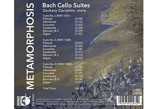 Zachary Carrettín - METAMORPHOSIS  - (CD)