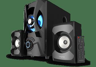 Sistema de altavoces - Creative SBS E2900, 120 W, Con Subwoofer, 2x Altavoces, 2.1 Canales, Bluetooth, Negro