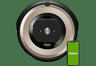 REACONDICIONADO Robot aspirador - iRobot Roomba E6198, 33 W, Autonomía 90 min, 69 dB, WiFi, Dirt Detect, Negro