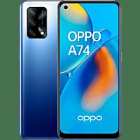 "Móvil - OPPO A74, Azul, 128 GB, 6 GB, 6,43"" Full HD+, QUALCOMM Snapdragon 662, 5000 mAh, Android"