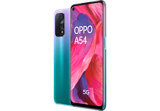 "Móvil - OPPO A54, Púrpura, 64 GB, 4 GB, 6,49"" Full HD+, QUALCOMM Snapdragon 480 5G, 5000 mAh, Android"