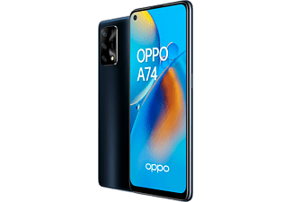 "Móvil - OPPO A74, Negro, 128 GB, 6 GB, 6,43"" Full HD+, QUALCOMM Snapdragon 662, 5000 mAh, Android"