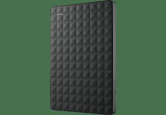 Disco duro externo 5 TB - Seagate Expansion Plus, USB 3.1, HDD, Para PC, Negro