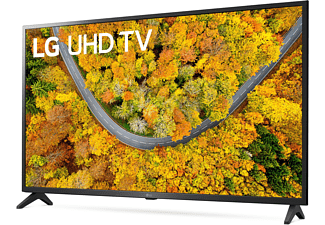 LG 43UP75009LF LCD TV (Flat, 43 Zoll / 108 cm, UHD 4K, SMART TV, webOS 6.0 mit LG ThinQ)