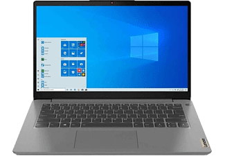 LENOVO Notebook IdeaPad 3, Pentium Gold 7505, 8GB RAM, 256GB SSD, 14 Zoll FHD, Arctic Grey (82H7005JGE)