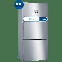 BOSCH KGN86AIDP Serie 6 Kühlgefrierkombination (D, 1860 mm hoch, inox-antifingerprint)