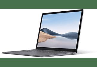 MICROSOFT Surface Laptop 4, Notebook mit 13,5 Zoll Display Touchscreen, AMD Ryzen™ 5 Prozessor, 8 GB RAM, 256 GB SSD, AMD Ryzen™ 5 4680U Mobile Prozessor, Platin Grau