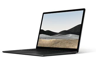 MICROSOFT Surface Laptop 4, Notebook mit 15 Zoll Display Touchscreen, AMD Ryzen™ 7 Prozessor, 16 GB RAM, 512 GB SSD, AMD Ryzen™ 7 4980U Mobile Prozessor, Schwarz