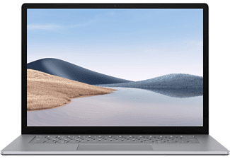 MICROSOFT Surface Laptop 4, Notebook mit 15 Zoll Display Touchscreen, AMD Ryzen™ 7 Prozessor, 8 GB RAM, 256 GB SSD, AMD Ryzen™ 7 4980U Mobile Prozessor, Platin