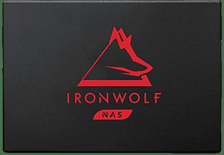 SEAGATE 250GB SSD Festplatte IronWolf 125, NAS, SATA, W540/R560, Schwarz/Rot