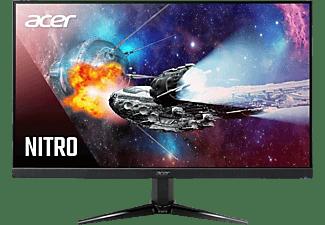 """Monitor gaming - Acer Nitro QG241Y, 23.8"""" FHD, VA, 1 ms, 75 Hz, AMD FreeSync™, Compatible VESA, Negro"""