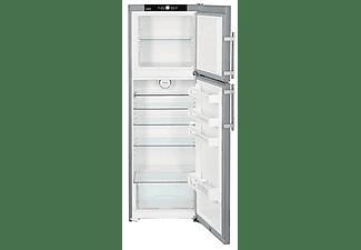 Frigorífico dos puertas- Liebherr CTPesf 3016, Capacidad total de 307L, 161.10cm, Inox