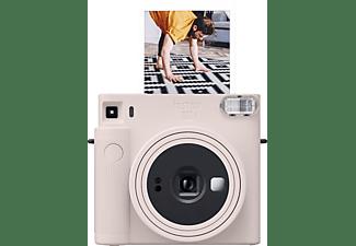 FUJIFILM instax SQUARE SQ1 Sofortbildkamera, Chalk White