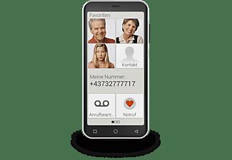 PEAQ PSP 400 Smartphone 32 GB Schwarz / Silber