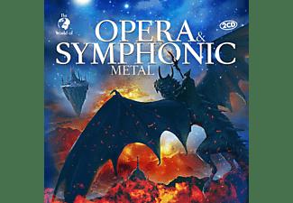 VARIOUS - OPERA And SYMPHONIC METAL  - (CD)