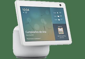 """Pantalla inteligente con Alexa – Amazon Echo Show 10, 10.1"""" HD con movimiento automático, WiFi, Blanco"""
