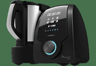 Robot de cocina - Cecotec Mambo 9590, 3.3 l, 30 funciones, 10 velocidades, 7 accesorios incluidos, Negro