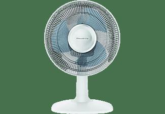 Ventilador de sobremesa - Rowenta VU2330F0, Diámetro 30 cm, 46 dB, 3 Velocidades, 34 m³/h, Blanco