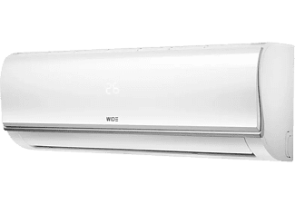 Aire acondicionado - Wide WDS12IUL3-R32,Inverter, 3000 frig/h, 3250 kcal/h, WiFi
