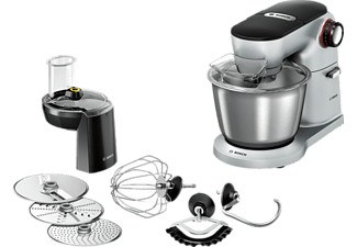 BOSCH MUM9D33S11 Küchenmaschine, OptiMUM, 1300 W, Silber
