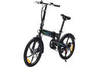 Bicicleta eléctrica - SmartGyro Ebike Crosscity, 250W, 25 km/h, Plegable, Negro
