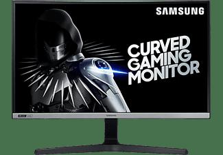 "Monitor gaming - Samsung LC27RG50FQRXEN, 27"" FHD, 4 ms, 240 Hz, Curvo 1500R, Nvidia® G-Sync®, Negro"