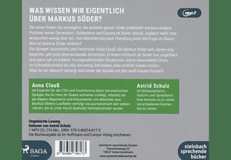 Astrid Schulz - Söder - Die Andere Biografie  - (CD)