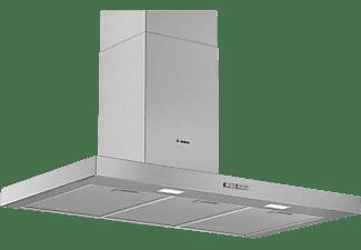 Campana - Bosch DWB96BC50, Decorativa, 590 m3/h, 3 velocidades, 90 cm, B, Inox