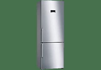 Frigorífico combi - Bosch KGN49XIEP, 40 db, No Frost, 435 l, Zona VitaFresh, LED interior, Inox