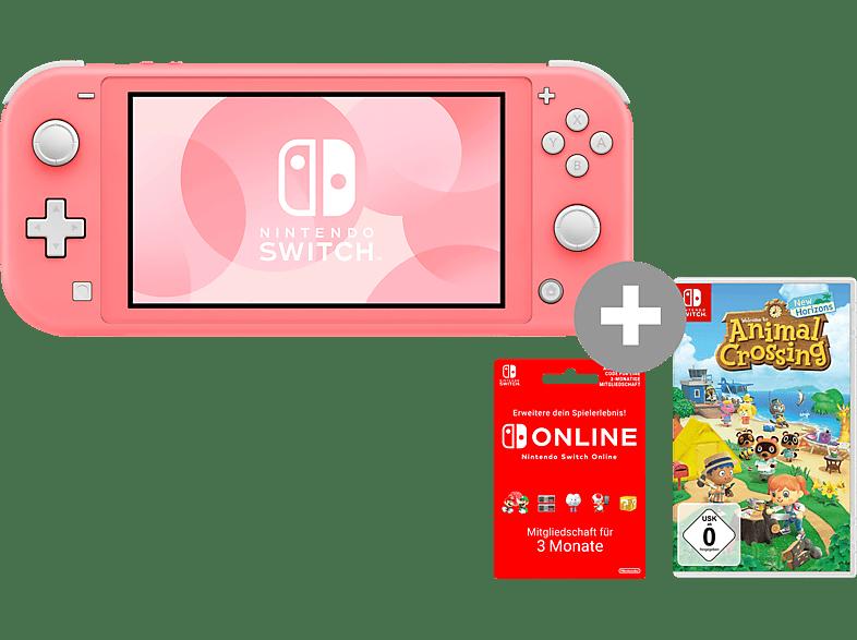 Nintendo Switch Lite inkl. Animal Crossing und 3 Monate Online Mitgliedschaft