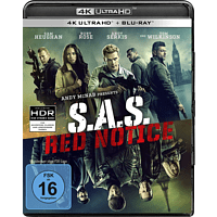 SAS:Red Notice 4K Ultra HD Blu-ray + Blu-ray
