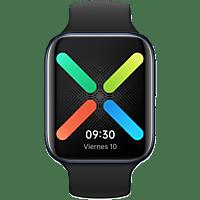Smartwatch - OPPO Watch 46mm, Policarbonato, Wear OS, Multideporte, NFC, 36h, Negro