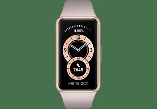 "Pulsera de actividad - Huawei Band 6, 1.47"", Hasta 14 días, 5 ATM, Bluetooth, Pantalla AMOLED, Rosa"