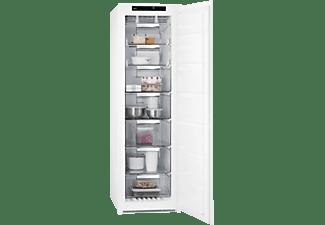 Congelador vertical - AEG ABE818F6NS, 204 l, No Frost, Frostmatic, Motor Inverter, 177.2 cm, Blanco