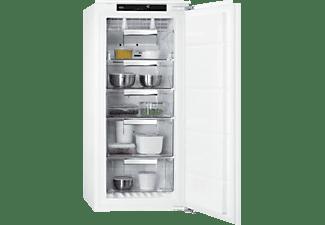 Congelador vertical - AEG ABE812E6NF, 122 l, No Frost, Panel táctil, Frostmatic, 122.4 cm, Blanco