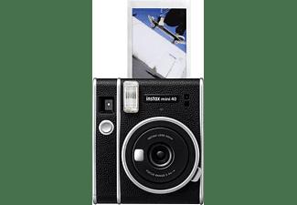 FUJIFILM instax mini 40 Sofortbildkamera, Schwarz