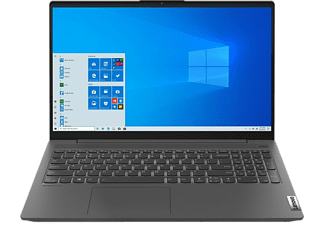 LENOVO Notebook IdeaPad 5, R7-5700U, 16GB, 512GB, 15.6 Zoll FHD, Graphite Grey  (82LN001FGE)