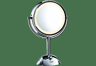 Espejo luminoso - Babyliss 9438E, Base antideslizante, 8 aumentos, 3 tonos