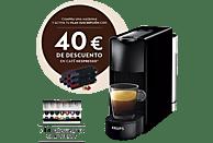 Cafetera de cápsulas - Nespresso® Krups XN1108 Essenza Mini, 19 bares, Negro