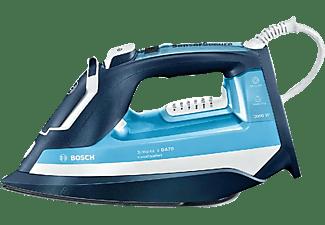Plancha de vapor - Bosch TDA753022V Sensixx'x DA70, VarioComfort, 200gr/min, 3000 W