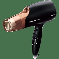Secador - Panasonic EH-NA65CN825, 2000W, 3 accesorios, Tecnología nanoe para hidratación y brillo, Negro