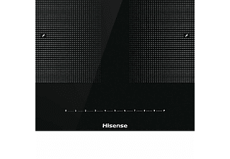 Encimera - Hisense I6456CB, Inducción, 4 zonas, Indicador de calor residual, 59.5 cm, Negro
