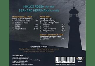 VARIOUS - Rozsa And Herrmann:Music For String Quartet  - (CD)