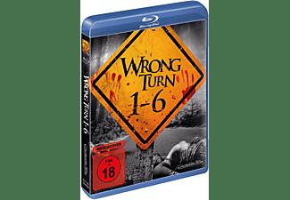 Wrong Turn 1-6 Blu-ray