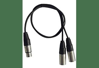 HILEC CL-28/0.6 1x Female XLR / 2x Male XLR Kabel - 0.6m
