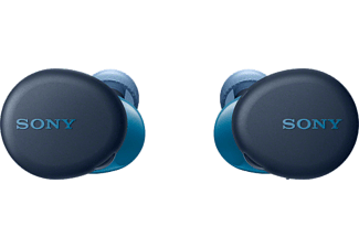 Auricular True Wireless - Sony WF-XB700L, Bluetooth, Extra Bass, 18h, IPX4, Google Assistant, Siri, Azul