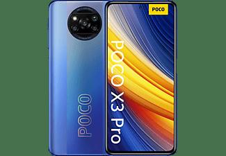 "Móvil - XIaomi Poco X3 Pro, Azul, 256 GB, 8 GB, 6.67"", Full HD+, Qualcomm Snapdragon 860, 5160 mAh, Android"