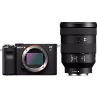 SONY Systemkamera Alpha 7C Bundle mit Objektiv FE 24-105mm f4.0 G OSS Schwarz
