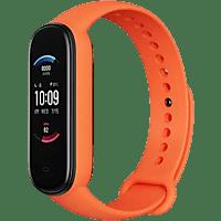 "Pulsera de actividad - Amazfit Band 5, Naranja, 18,5 mm, 1.1"", Multideporte, Bluetooth, Autonomía 15 días"