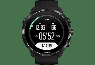Reloj deportivo - Suunto 7 Black, 48h, Más de 70 modos deporte, Mapas offline, Sumergible, Google